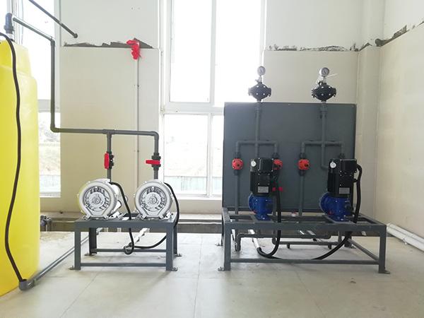 大型次氯酸钠发生器现场